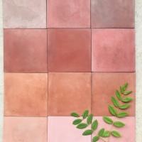 Cement Tile Terra-cota Colours